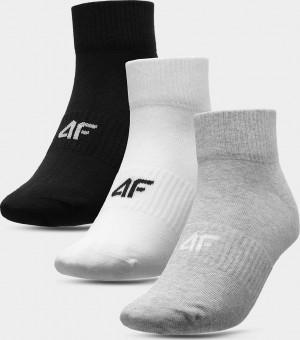 Pánské ponožky 4F SOM302 šedé... cold light grey melange 39-42