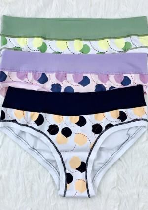 Dámské kalhotky Lovelygirl 4245D L Mix