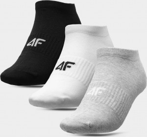 Pánské ponožky (3 páry) 4F SOM301 Šedé ... Šedá 39-42