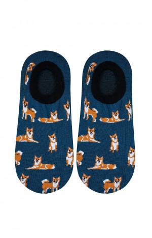 Pánské ponožky mokasínky Soxo 3158 Vzor 40-45 tmavě modrá 40-45