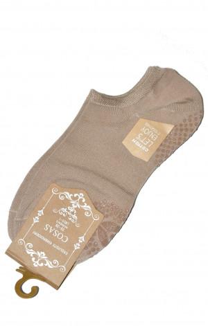 Dámské ponožky Ulpio Cosas LM-25/3 ABS béžová 35-38