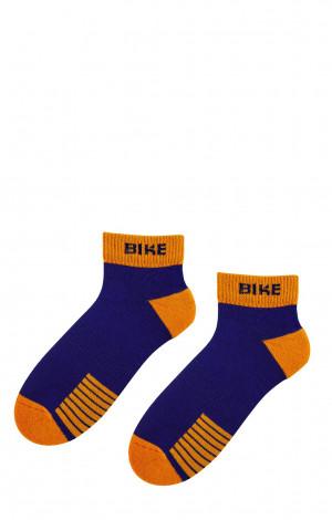 Pánské ponožky Bratex 0708 AG+ Sports bílá 44-46