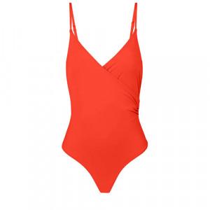 WIRELESS, PADDED ONE-PIECE 1BWB11 Amalfi Orange(330) - Simone Perele Amalfi Orange 1