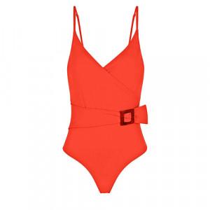 WIRELESS, PADDED ONE-PIECE 1DDB11 Amalfi Orange(330) - Simone Perele Amalfi Orange 1