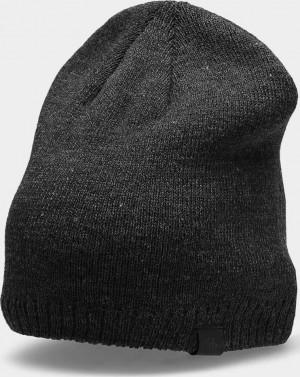 Pánská čepice 4F CAM300 Tmavě šedá Šedá one size