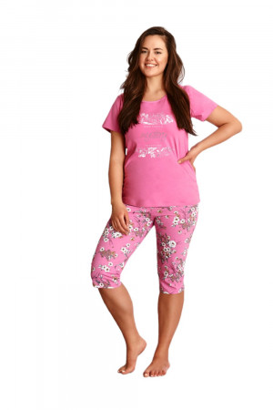 Dámské pyžamo 2379 Agnieszka pink - TARO růžová