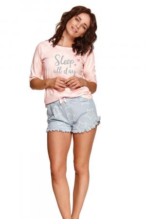 Dámské pyžamo 2488 Malwa pink - TARO růžová