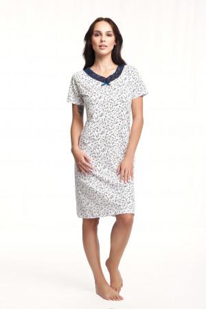 Dámská noční košile Luna 171 kr/r 3XL růžová 3XL