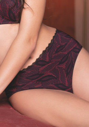 Dámské kalhotky Leilieve 2606 L Černá