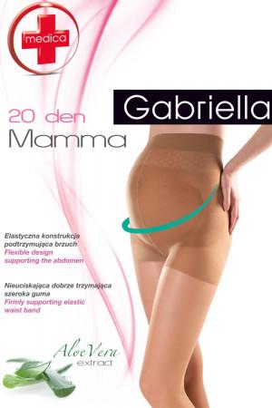 Těhotenské punčochové kalhoty Mamma 20 - Gabriella Neutro-hnědá 4-L