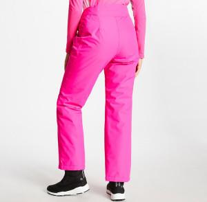 Dámské lyžařské kalhoty DWW468 - DARE2B fuchsia 40/L
