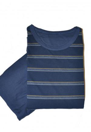 Pánské pyžamo Cornette 138/18 dł/r M-2XL tmavě modrá