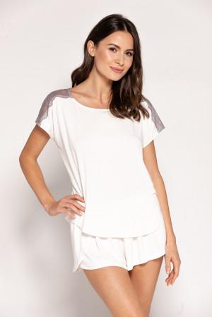 Dámské pyžamo Babella Fiona S-XL perlová