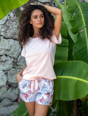 Dámské pyžamo Cana 559 kr/r S-XL růžová