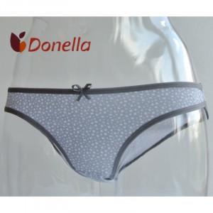 Dámské kalhotky 21136 - Donella šedo-bílá