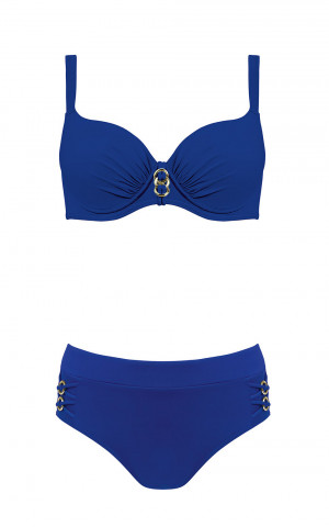 Dvoudílné dámské plavky S 940NJ - Self královská modř