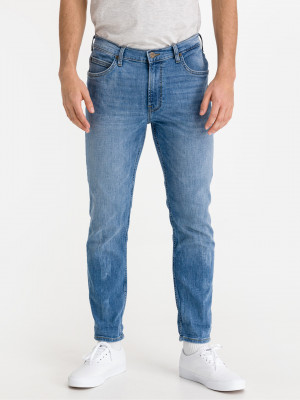 Rider Cropped Jeans Lee Modrá