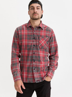 Košile Replay Červená