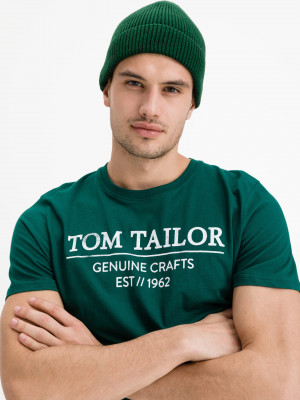 Triko Tom Tailor Zelená