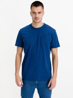 Triko Tom Tailor Modrá