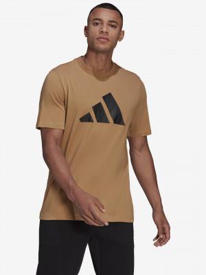 Sportswear Triko adidas Performance Hnědá