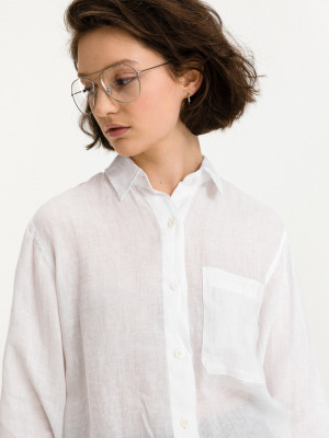 Košile Replay Bílá