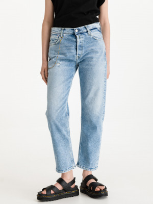 Leony Jeans Replay Modrá
