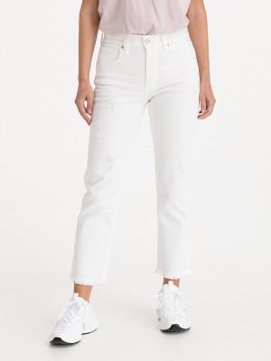 Maijke Jeans Replay Bílá