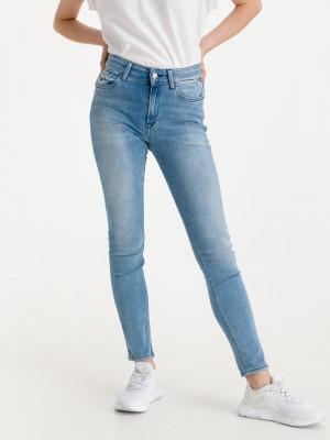 Luzien Jeans Replay Modrá