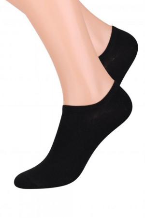 Dámské ponožky 007 black - Steven černá 35/37