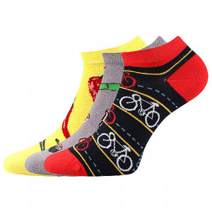 3PACK veselé ponožky Lonka vícebarevné (Dedon mix C) 43-46
