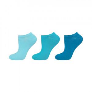 Tyrkysové ponožky SOXO - 3 pack Tyrkysový 35-40