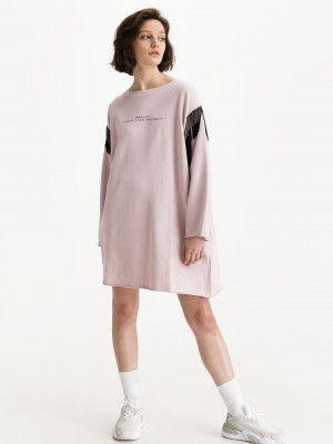 Šaty Replay Růžová