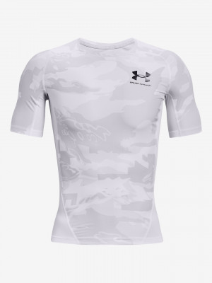 HeatGear® Iso-Chill Comp Print Triko Under Armour Bílá