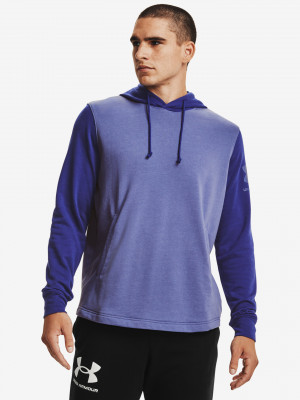 Rival Terry Colorblock Mikina Under Armour Modrá
