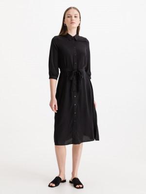 Cara Šaty Vero Moda Černá