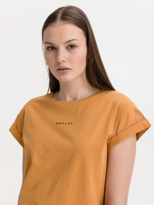 Triko Replay Oranžová