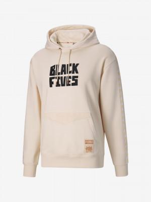 Puma x Black Fives Mikina Puma Béžová