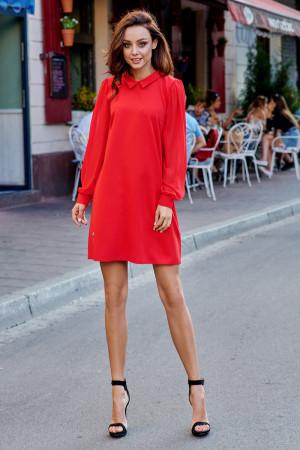 Dámské šaty L265 - Lemoniade červená