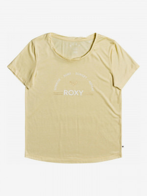 Chasing The Swell Triko Roxy Žlutá