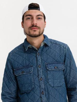 Košile Salsa Jeans Modrá