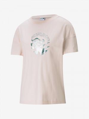 Evide Graphic Triko Puma Růžová