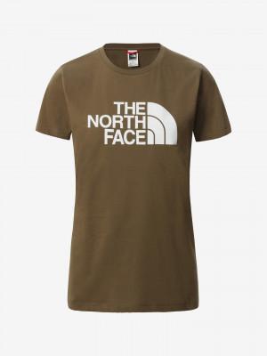 Easy Triko The North Face Hnědá