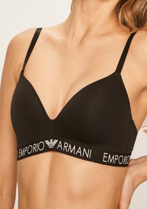 Dámská podprsenka Emporio Armani 164410 CC318 L Černá