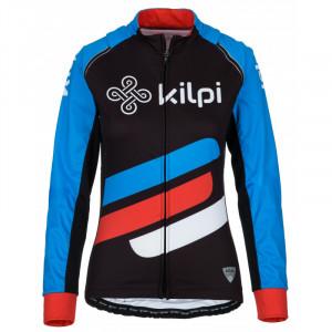 Dámský cyklistický dres Palm-w modrá - Kilpi černá-modrá-červená 38/M