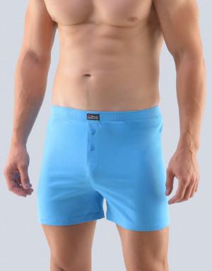 Pánské trenky Gino tmavě modré 75162 - Gino světle modrá XL/2XL