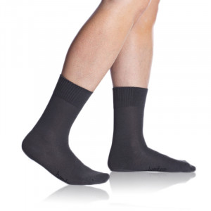 Pánské ponožky BAMBUS SOCKS - BELLINDA šedá 43-46