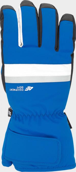 Pánské lyžařské rukavice 4F REM350 Modré 7-7,5(S)