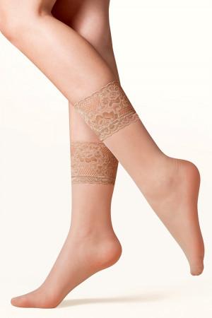 Dámské ponožky 690 Kala beige - GABRIELLA béžová Univerzální