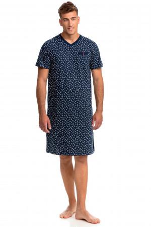 Vamp - Pohodlná pánská noční košile 14748 - Vamp
